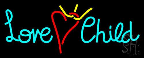 Love Child Neon Flex Sign