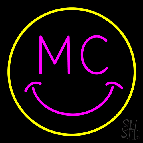 Mc Smile Neon Flex Sign