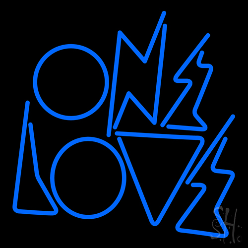 One Love Neon Flex Sign