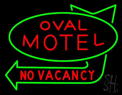 Motel No Vacancy Neon Flex Sign
