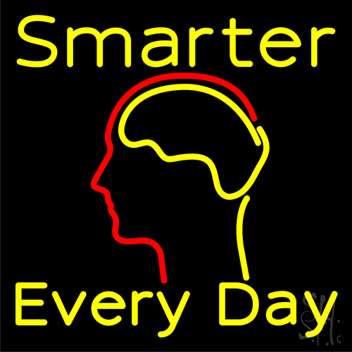 Smarter Every Day Neon Flex Sign