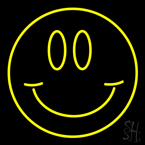 Smile Neon Flex Sign
