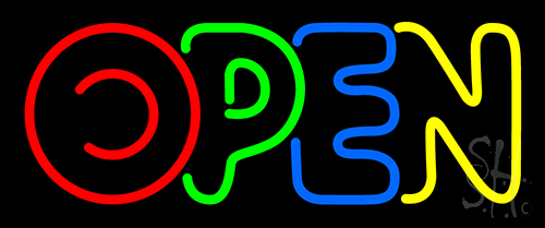 Open Neon Flex Sign
