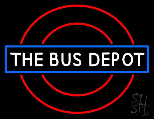 Bus Depot Neon Flex Sign