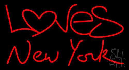 Loves New York Neon Flex Sign