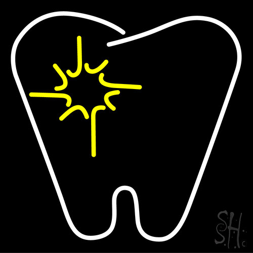 Tooth Neon Flex Sign