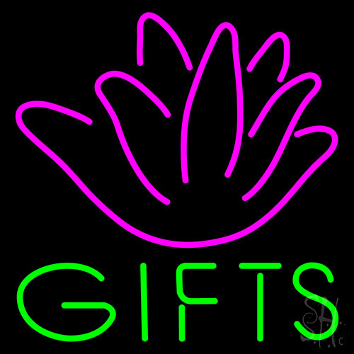 Rose Gift Neon Flex Sign