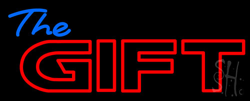 The Gift Neon Flex Sign