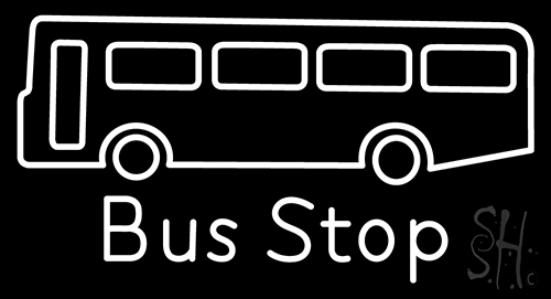 Bus Stop Neon Flex Sign