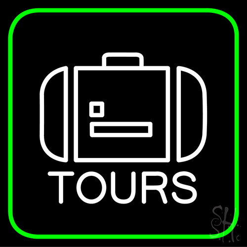Icon Tours Neon Flex Sign