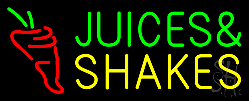 Juice Shake Neon Flex Sign