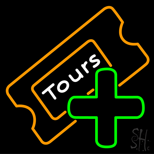 Tours Neon Flex Sign