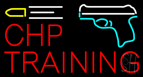 Chp Training Neon Flex Sign