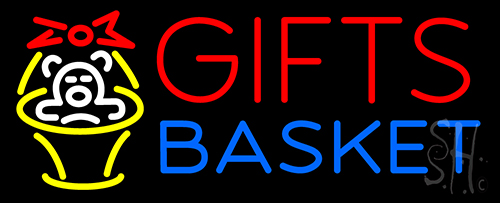 Giftsbasket Neon Flex Sign