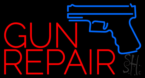 Gun Repair Neon Flex Sign