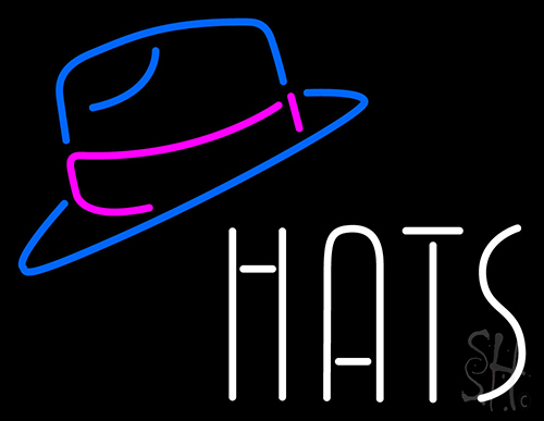 Hats With Logo Neon Flex Sign