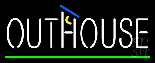 Outhouse Neon Flex Sign