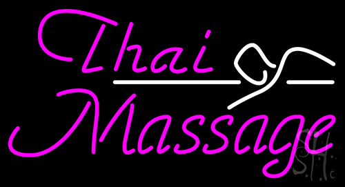 Thai Massage Neon Flex Sign