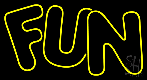 Fun Neon Flex Sign