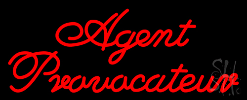 Agent Provocateur Neon Flex Sign