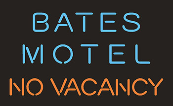 Bates Motel No Vacancy Neon Flex Sign
