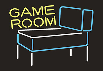 Game Room Neon Flex Sign
