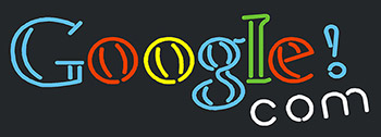 Google Com Neon Flex Sign