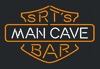 Man Cave Srts Bar Neon Flex Sign