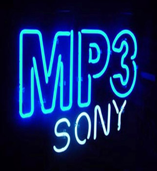 Mp3 Sony Neon Flex Sign