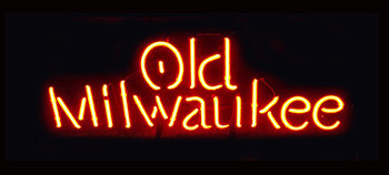 Old Milwaukee Logo Neon Flex Sign