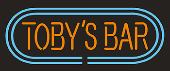Tobys Bar Neon Flex Sign