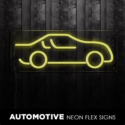 Automotive Neon Flex Signs