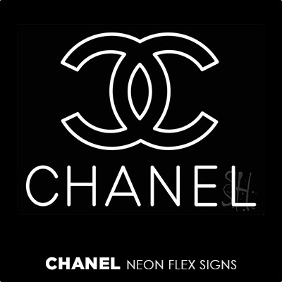 Chanel Neon Flex Signs
