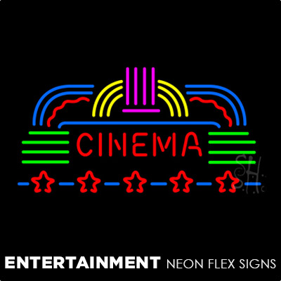 Entertainment Neon Flex Signs
