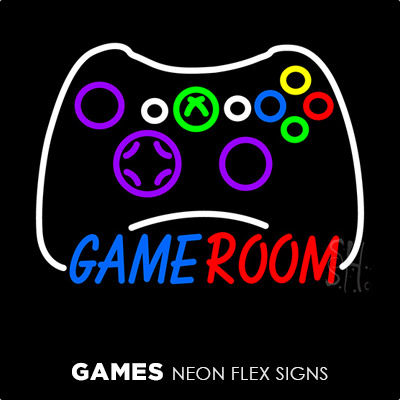 Games Neon Flex Signs