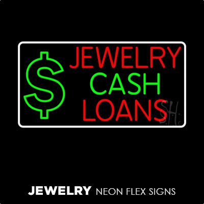 Jewelry Neon Flex Signs