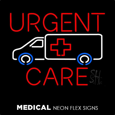 Medical Neon Flex Signs