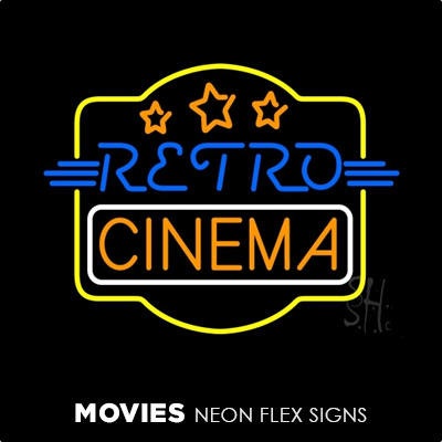 Movies Neon Flex Signs