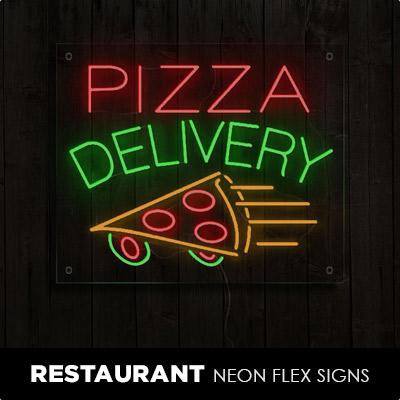 Restaurant Neon Flex Signs