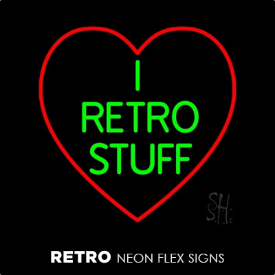Retro Neon Flex Signs