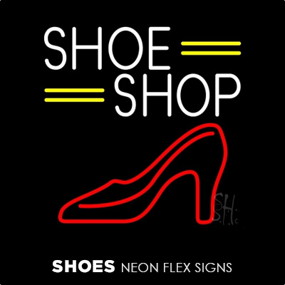 Shoes Neon Flex Signs