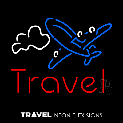 Travel Neon Flex Signs