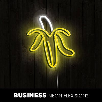 Business Neon Flex Signs