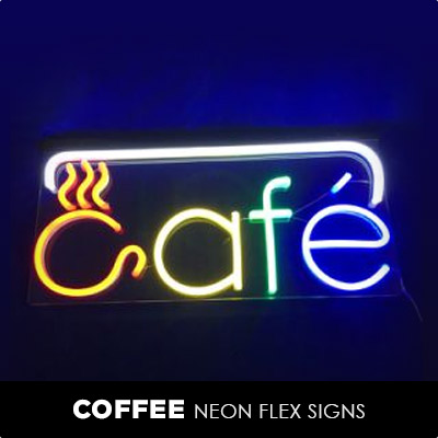 Coffee Neon Flex Signs