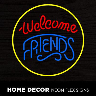 Room Lights Neon Flex Signs