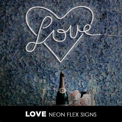 Love Neon Flex Signs
