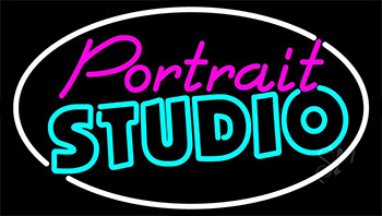 Portrait Studio LED Neon Sign